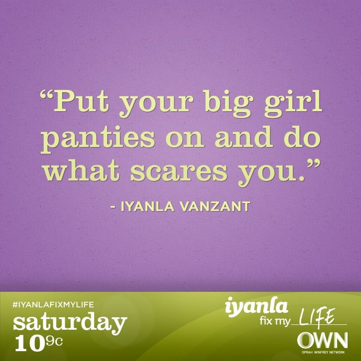 Iyanla Vanzant. wow i feel so convicted by this statement too...