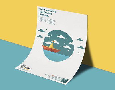 "Check out new work on my @Behance portfolio: ""Tashlikh on the Vistula River - Poster & Cover"" http://be.net/gallery/53030805/Tashlikh-on-the-Vistula-River-Poster-Cover"