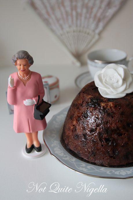 Queen Elizabeth II's Christmas Pudding Recipe @ Not Quite Nigella