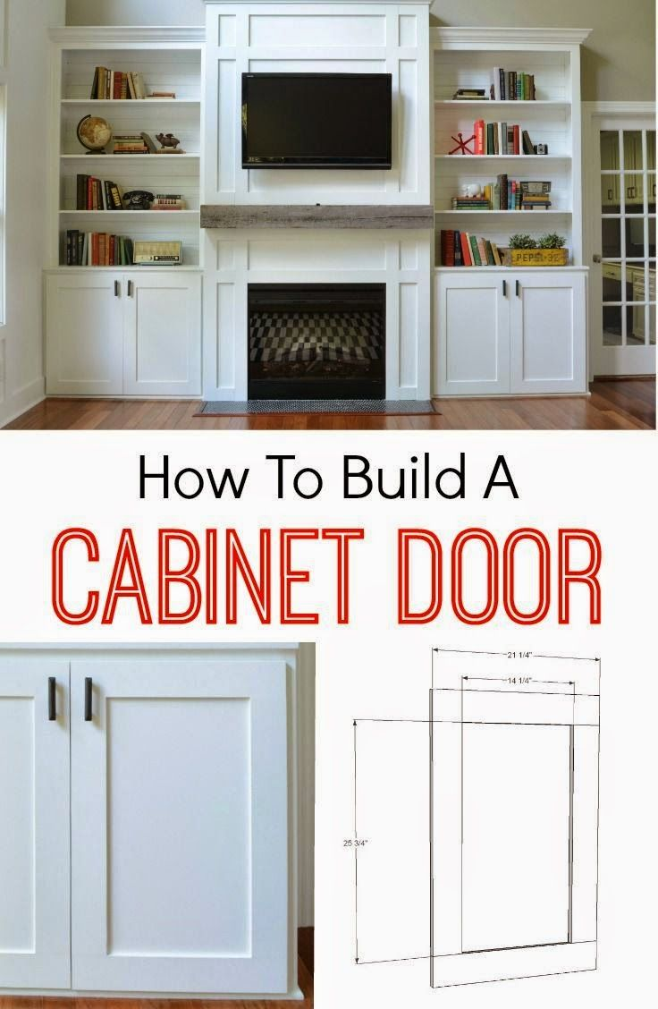 Best DIY Projects: How to Build a Cabinet Door. It's easier than you think! Learn how!