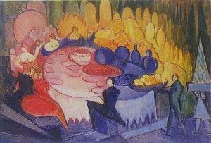 Chwistek - Uczta, 1925, formista