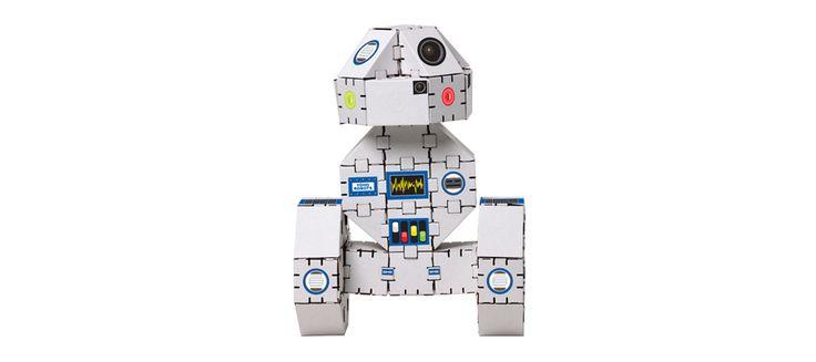 Cardboard robot
