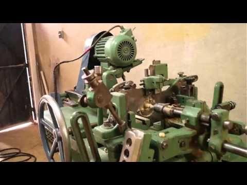 Torno minutero de alta producción Maquinas para madera - YouTube