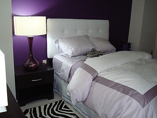 Purple and white. 69 best inspiration for redecorating mom s bedroom images on Pinterest