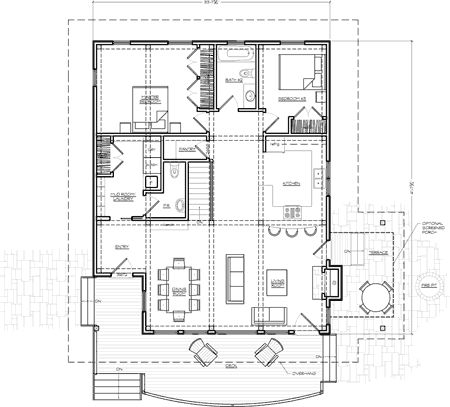 Timber frame house plans first floor new energy works add for House frame floor bed plans