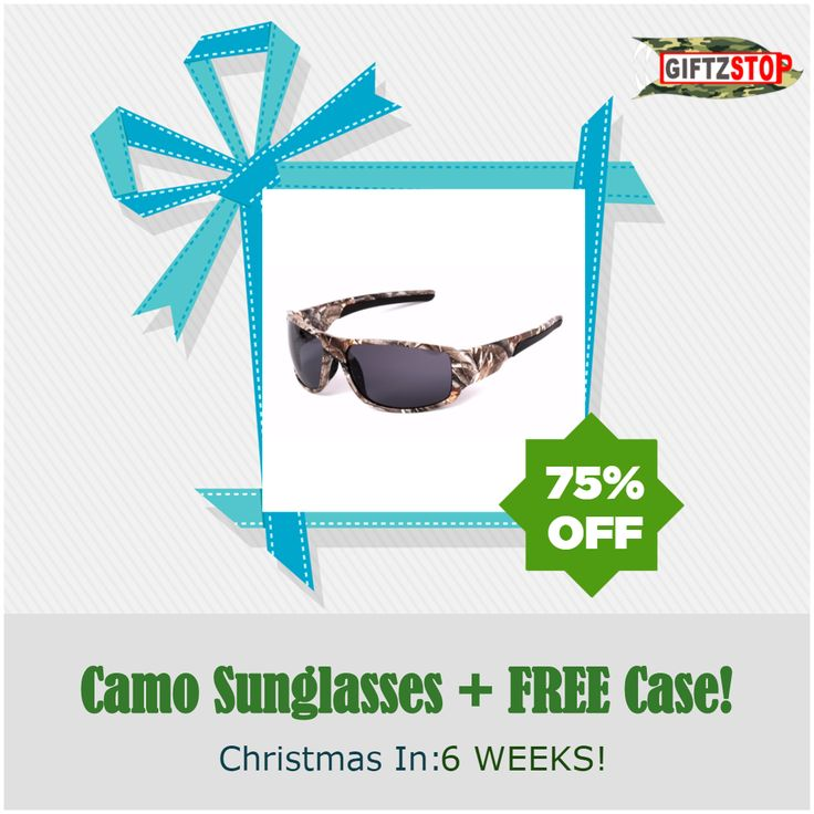 POLARSNOW 2016 New Camouflage Polarized Sunglasses [ON SALE 75% OFF]   #deer #outdoors #camping #camo #fishing #camouflage #hunting #survival #deerhunting #giftzstop