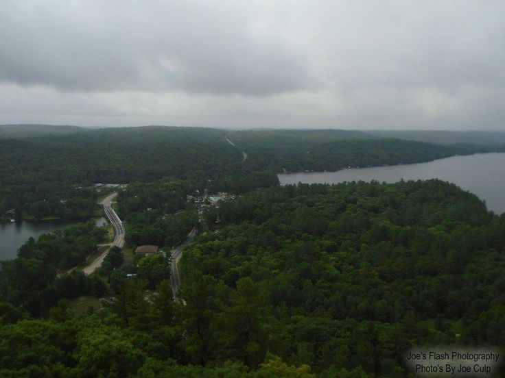 VIEW OF DORSET ONTARIO  Taken from the Observation Tower