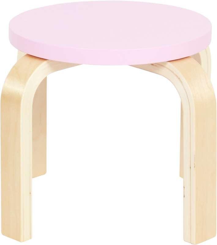SG Furniture, Krakk, 2-pack, Rosa/Bjørk