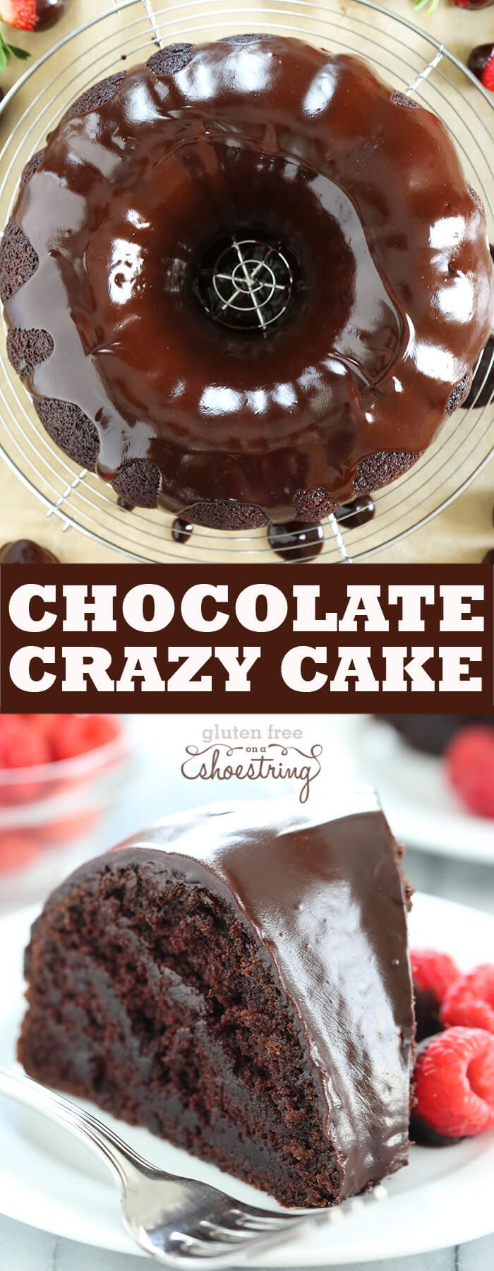 This crazy cake is a gluten free chocolate cake made with no eggs, no butter and no chopped chocolate—but it's still super moist and tender. Find out just how this simple cake is done! The inspiration for this amazingly moist, …