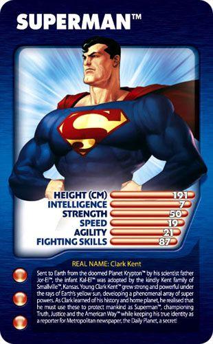 Super Hero Top Trumps Gustavo Pinterest