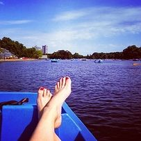 Pedalos in Hyde Park. | The 21 Loveliest Places To Go For A Date In London