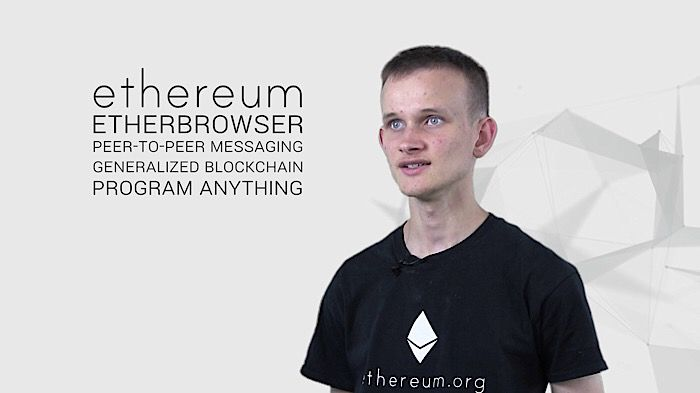 Vitalik Buterin is the brains behind what some say is the next generation of bitcoin, called Ethereum. The total market value of all Ether in circulation is $25-billion, not too far below bitcoin's $42-billion.