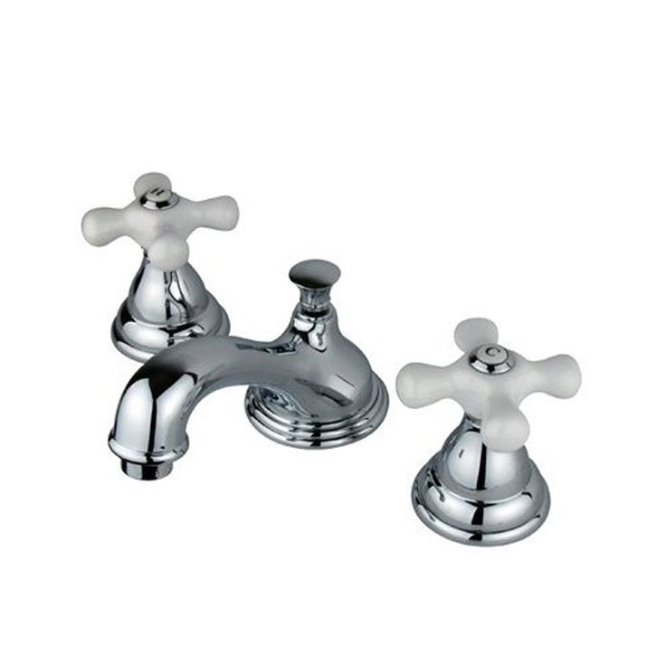 Elements of Design Royale Chrome 2-Handle Widespread Bathroom Faucet
