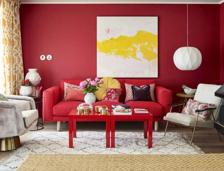 PASSION: Årets farge fra Fargerike representerer lidenskap og «passion».