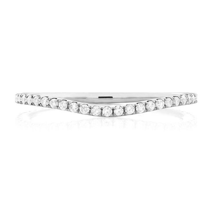 The Michael Hill Designer Bridal Collection | 1/4 Carat TW Diamond Arpeggio Wedding Band