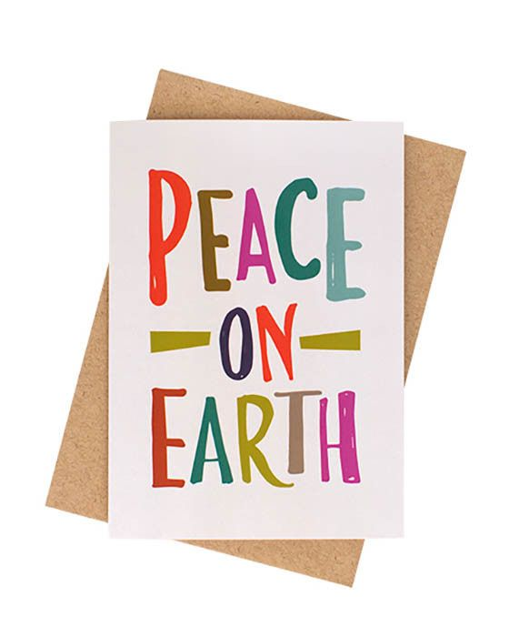 Ma and Grandy - Peace On Earth Card – Daisy Chain Store