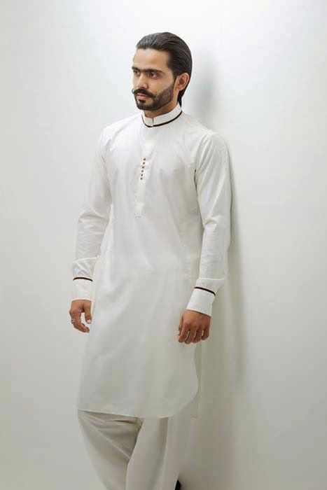 Humayun Alamgir Eid Collection For Men 2014 | Summer And Eid Wear Shalwar Kameez For Men