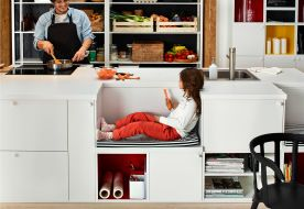 Kid friendly kitchen design - IKEA