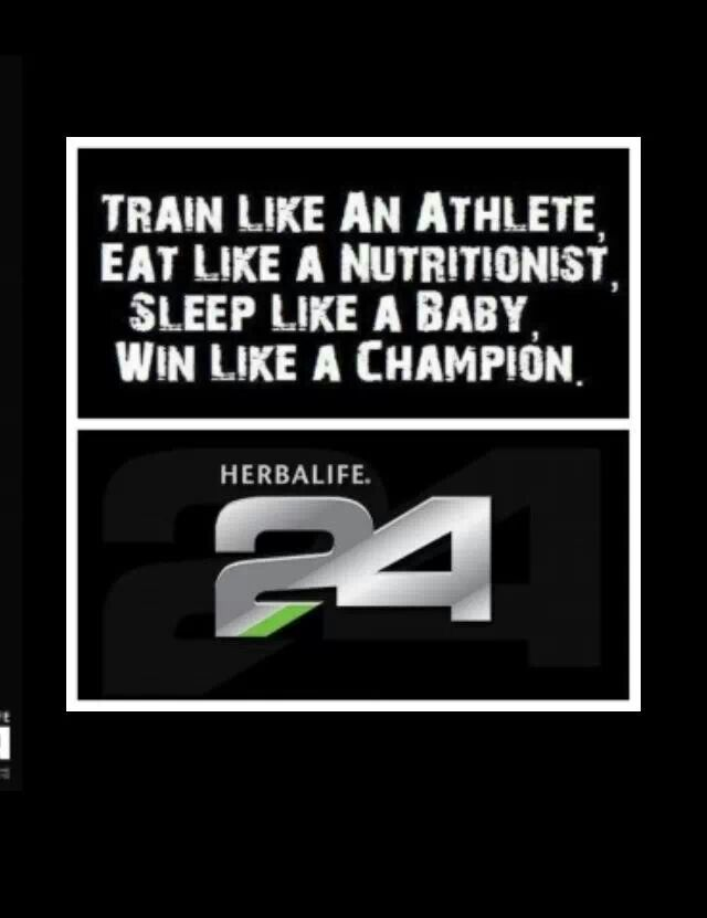 Herbalife 24. Best line of nutrition for the athlete! www.GoHerbalife.com/ericbates/en-US