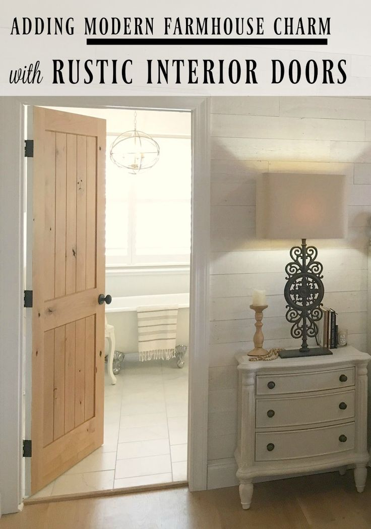 Choosing Wood Doors For The Fixer Upper Farmhouse DoorModern FarmhouseFarmhouse StyleInterior