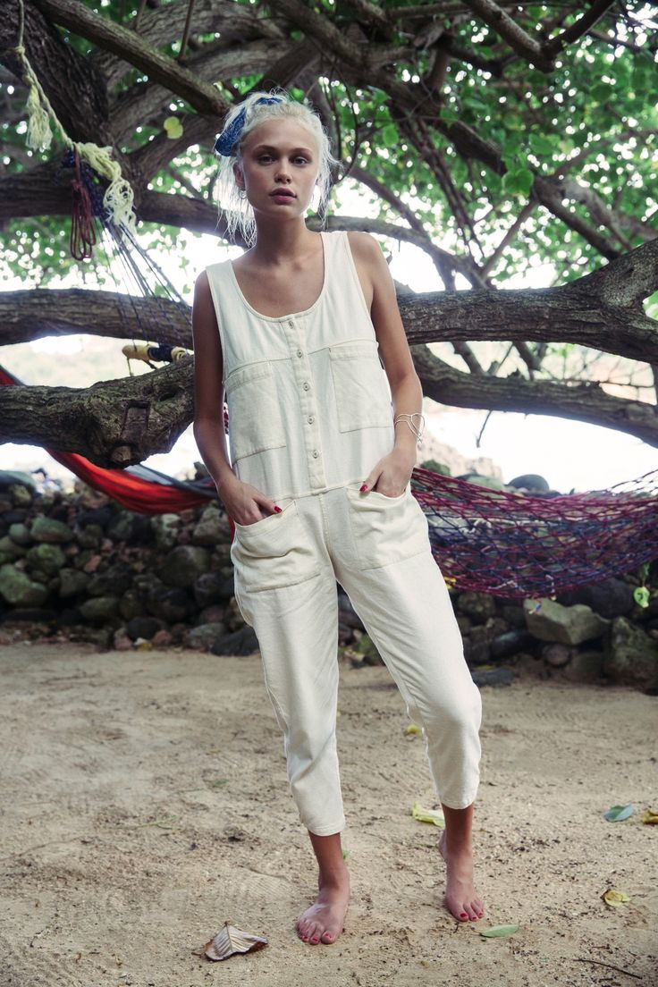 A jumpsuit for the girl who doesn't just seek fun, she creates it || Going Places Jumpsuit