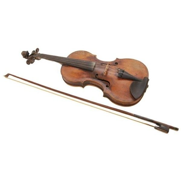 Vintage Jacobus Stainer violin and bow may bring $6,000 this weekend ❤ liked on Polyvore featuring instrument