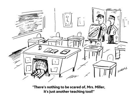Student Presentation Cartoon | ... nothing-to-be-scared-of-mrs-miller-it-s-just-another-teaching-cartoon