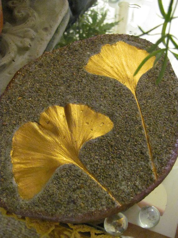 Double Gold Ginkgo Leaf Casting with FREE S in by oregonbliss242, $18.00