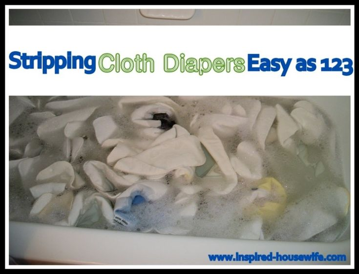 how to strip cloth diapers with baking soda