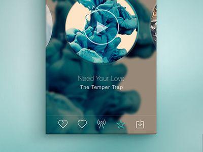 Radio Music App by Vladimir Gnatovych