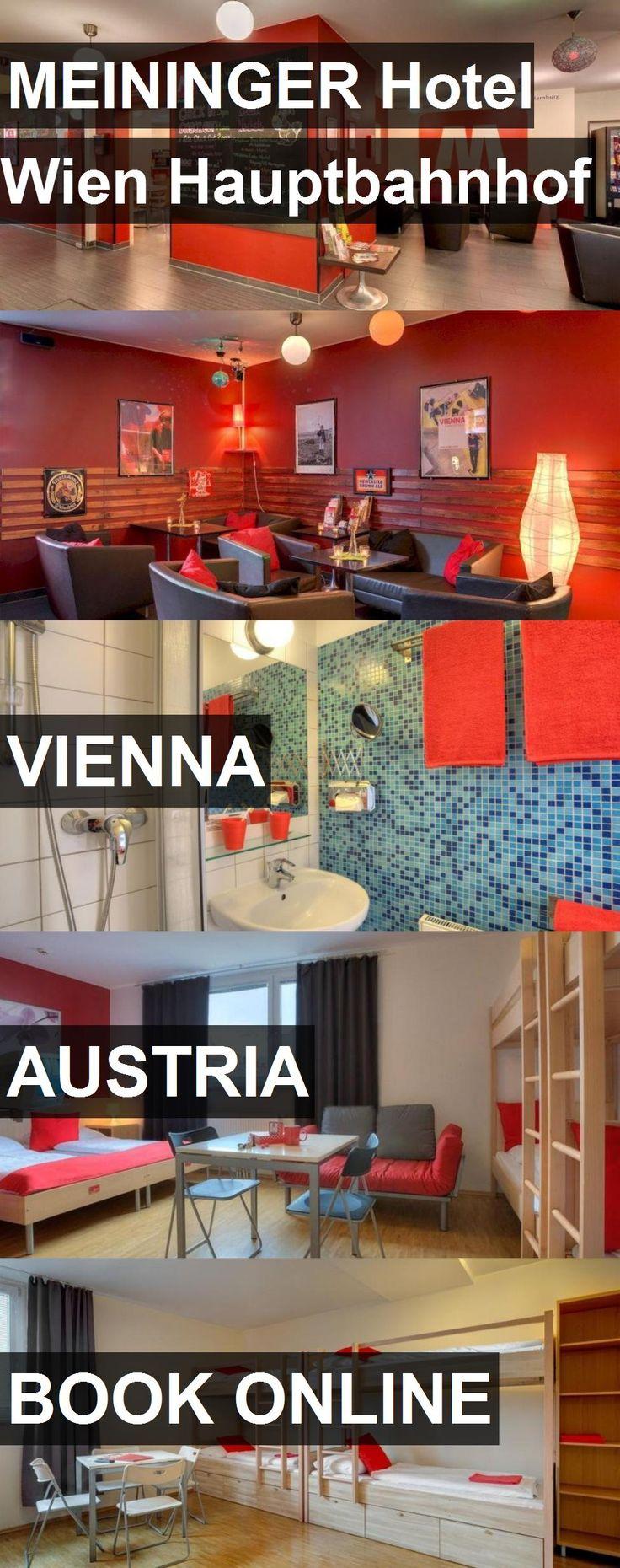 MEININGER Hotel Wien Hauptbahnhof in Vienna, Austria. For more information, photos, reviews and best prices please follow the link. #Austria #Vienna #travel #vacation #hotel
