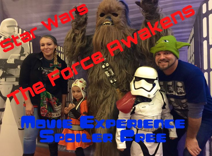 Star Wars The Force Awakens, Family Movie Experience at Celebration Cinema North, Spoiler Free - YouTube
