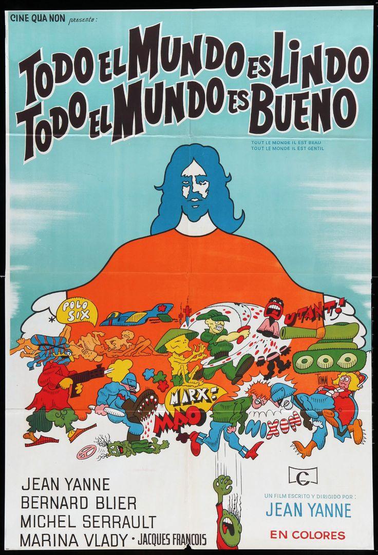 1972 - TOUT LE MONDE IL EST BEAU, LE MONDE IL EST GENTIL - Jean Yanne - (Argentina)