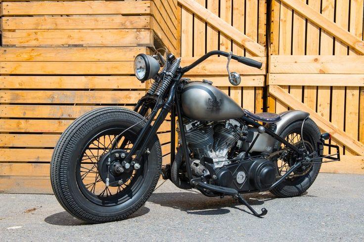Harley Davidson Panhead 1950 By Bobber FL Motorcycles