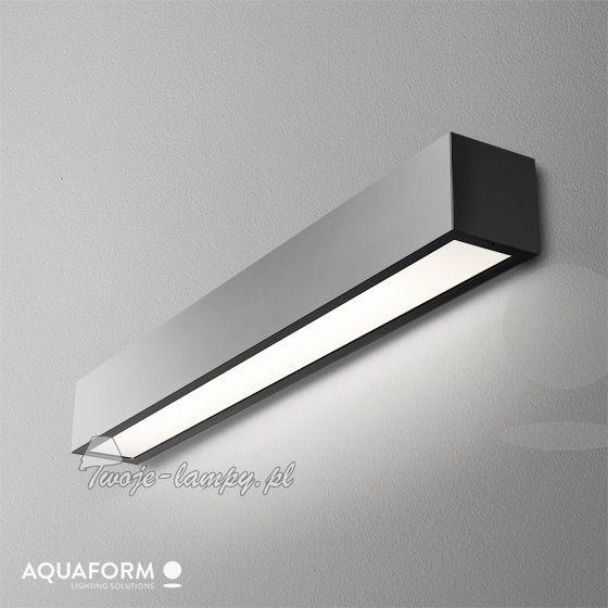 Aquaform set aluline 60 fluo kinkiet matt 26380 - Technicze listwy i podłużne - Lampy ścienne i kinkiety - 💡 Sklep Twoje-lampy.pl
