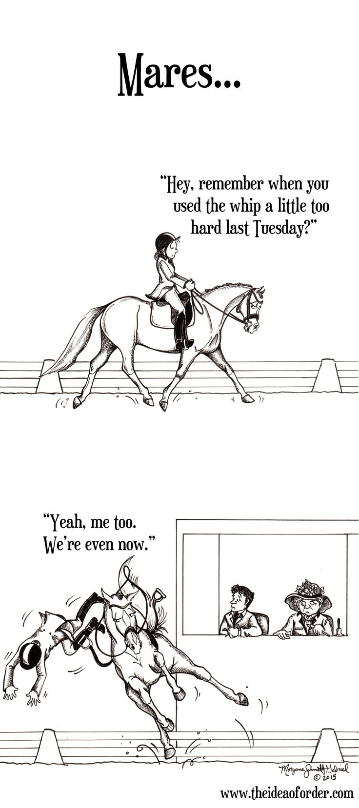 On Horse Nation >> The Idea of Order: Mares. Always Keeping Score.