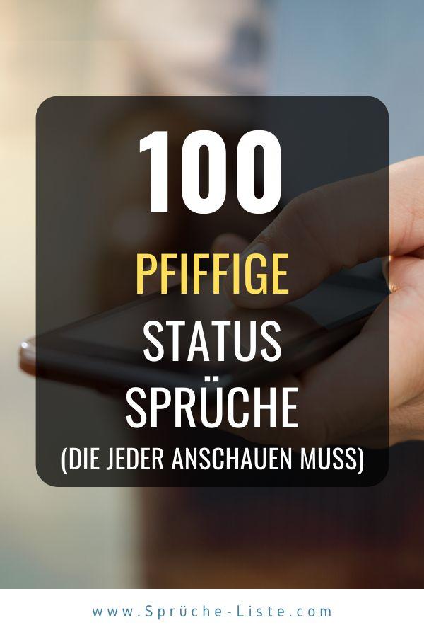 100 Pfiffige Status Sprüche | Zitate zum thema liebe