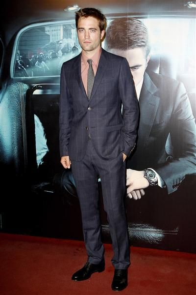 """Looking Sharp, Rob! Check out more great celeb style in the """"Week in Photos"""" on Wonderwall. http://on-msn.com/KvsUBn"""
