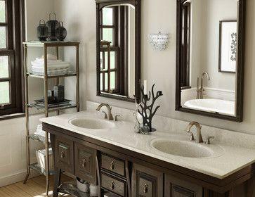 Cultured Marble Vanity Tops | ... Gateway Plus Cultured Marble Vanity Top traditional-bath-products