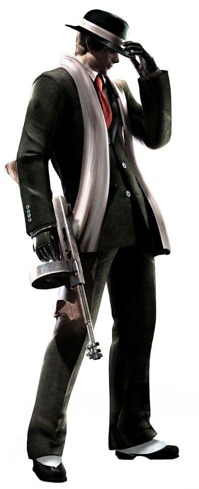 Leon Gangster Costume