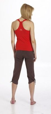 Kitkat tank yoga top - $64.95 - It's the little details that make a yoga top comfortable enough to practice in, yet stylish enough to wear anytime. #fireandshine #yoga #fashion #ethical #hyde