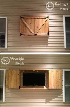 Best 25+ Outdoor tv cabinets ideas on Pinterest | Outdoor tv ...