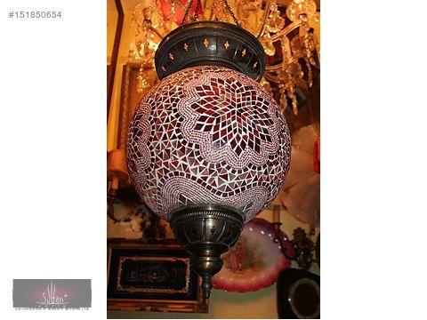 Sultanantik antika cam murano küre salon oda hol veranda avize  - Antika Avize ve Çeşitli Antika Eşyalar sahibinden.com'da