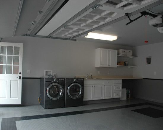 Laundry Room In Garage Design Pictures Remodel Decor