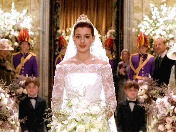 Wedding dresses princess like movies