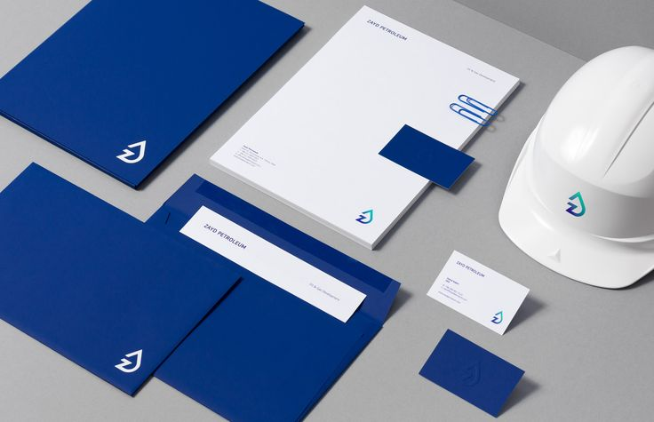 OIL AND GAZ: Brand Identity for Zayd Petroleum by ForBrands