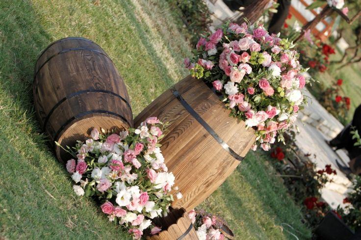 Wedding Flowers Lebanon Beirut : Outdoor flower decoration wedding arnaoon village batroun