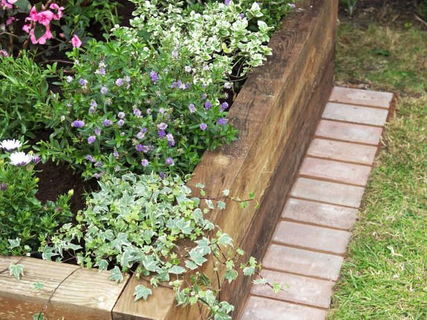 1000 ideas about flower bed borders on pinterest flower for Raised border edging