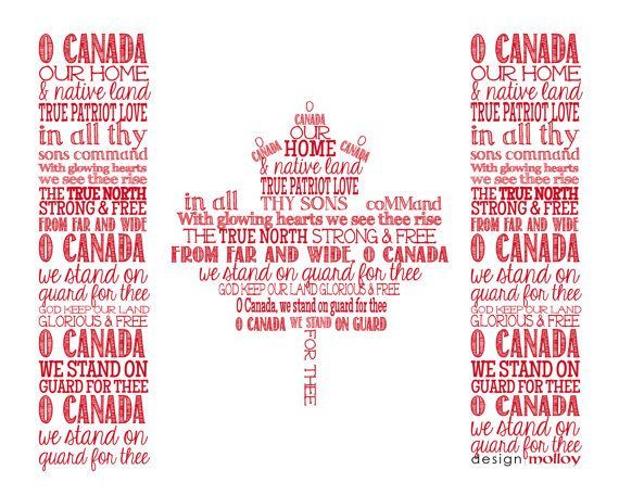This O Canada National Anthem flag design is a great way to display your patriotism. An excellent gift for a classroom teacher, suitable for office setting or home. Perfect for anyone who is proud to be Canadian.