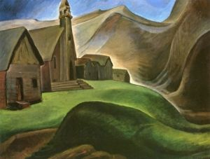 Lillooet Indian Village - Emily Carr - The Athenaeum